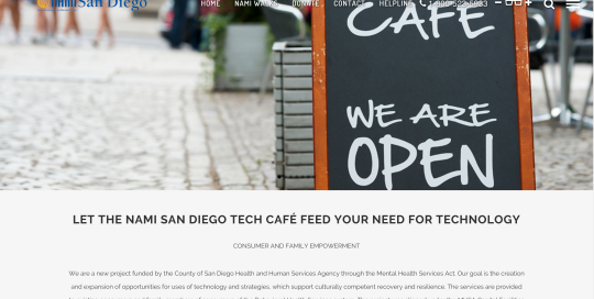 NAMI San Diego Tech CAFÉ